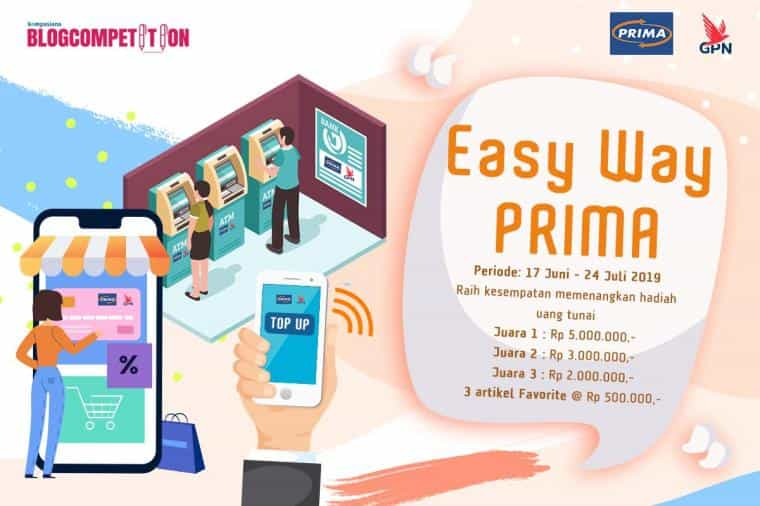 lomba blog easy way prima