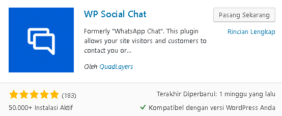 plugin wp social chat