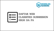 daftar web classified submission